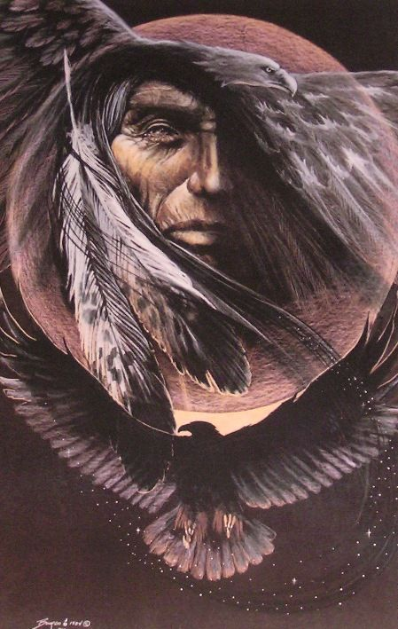 """""""Dark Eagle"""" by Carole Bourdo"""