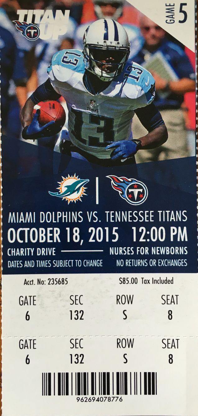 Tennessee titans vs miami dolphins 10 18 15