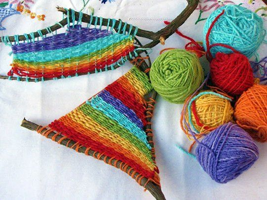 Craft Project: Weaving with Your Kids — Natural Suburbia
