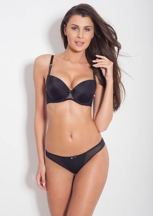 Samanta lingerie - New collect Heka black bra: A475 pants: M200 www.samanta.eu