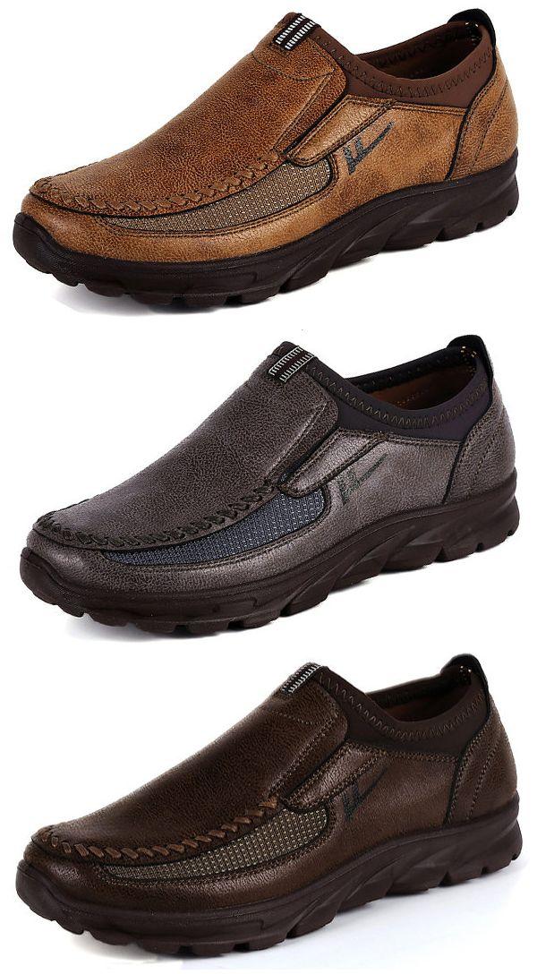 Large-size-EUR45-fashion-black-brown-tan-mens-dress-shoes