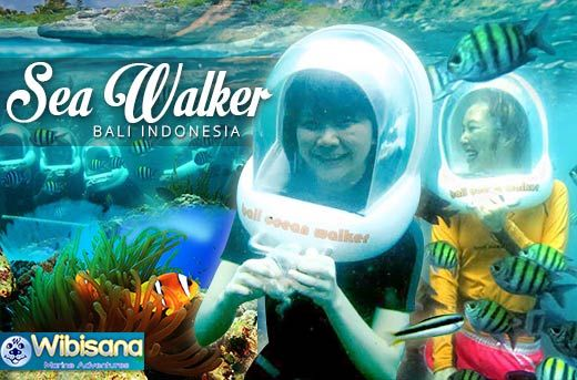 Explore Tanjung Benoa Underwater World with Seawalker for Rp349.000 instead of Rp800.000 - Get Up-Close with Marine Life - Exclusively and only at www.MetroDeal.co.id