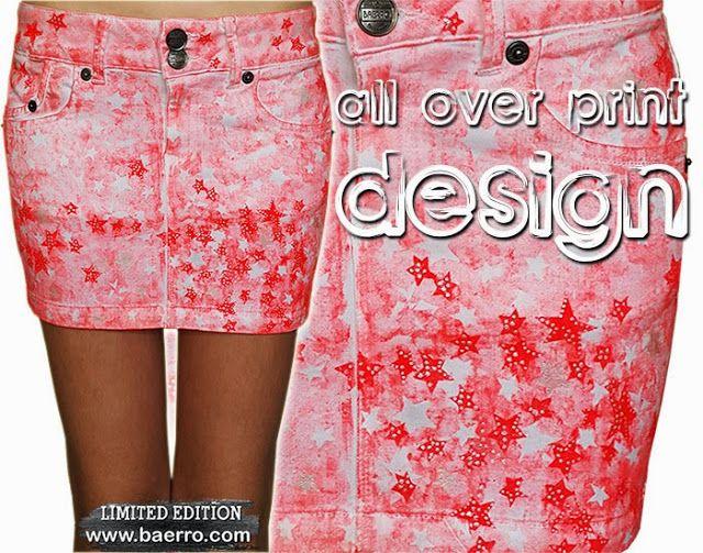 The biggest apparel trend 2015: All Over Printing. #baerro #FashionTrendandDesignStudio