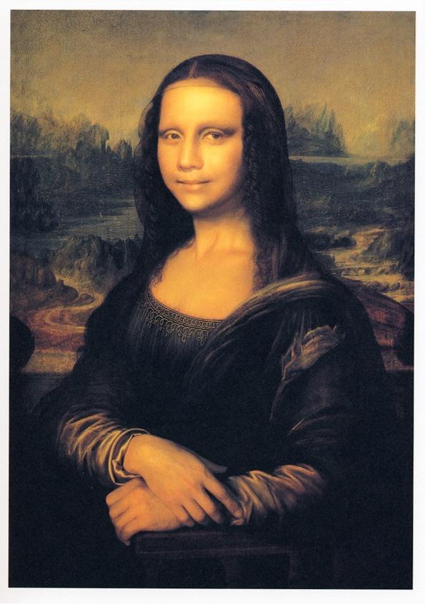 Yasumasa Morimura, Mona Lisa In Its Origin, 1998 Mona