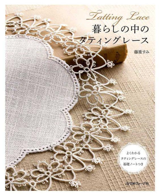 Frivolité dentelle  livre de l'artisanat japonais par pomadour24