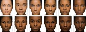 Image By Iman CosmeticsTrès souvent je reçois des mails de nanas à la peau mate/foncée qui me demandent des conseils pour choisir leur fond de teint. Cela fait bientôt un an que j'ai ce billet en brouillon donc hier après un énième mail, j'ai décidé de m'y mettre vraiment...Il faut savoir que les peaux noires/métissées et les peaux caucasiennes ont des besoins différents. En effet,les peaux noires ont surtout dans l'ordre, des problèmes de matité, d'unification,...