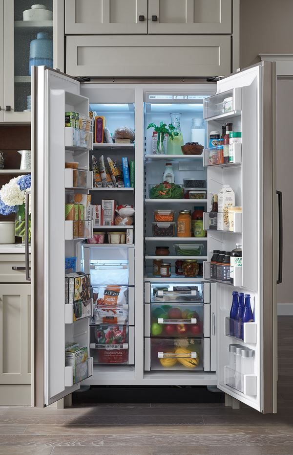 Built In Refrigeration Bi 36s O Sub Zero Wolf Luxury Exterior Side By Side Refrigerator Refrigerator Freezer
