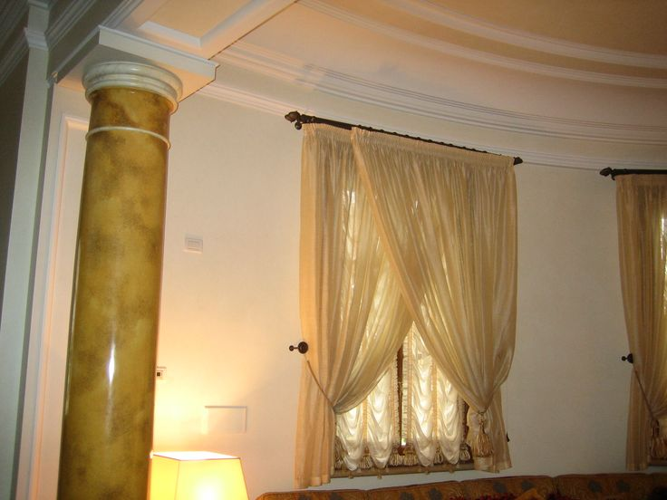 Columns in private house. www.paca.re.it