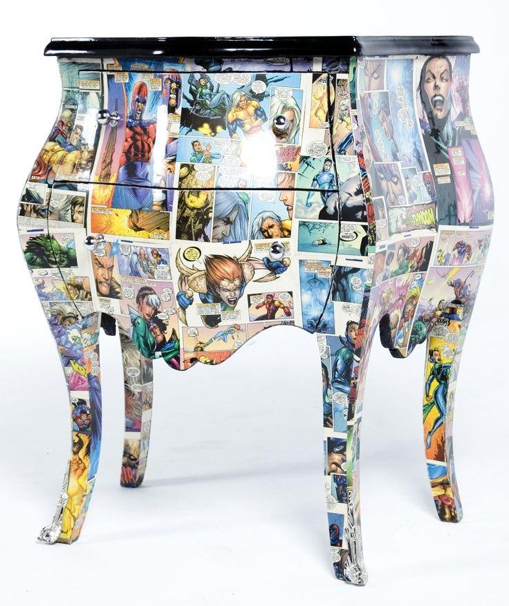Oltre 25 fantastiche idee su decoupage mobili su pinterest - Decoupage su mobili ...