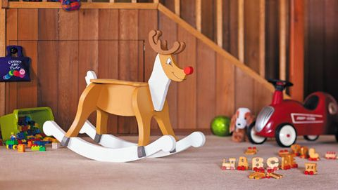 How to make a rocking reindeer: There's something extra special about a Christmas gift you make yourself, especially when it's a quality toy that will rock on through the g...