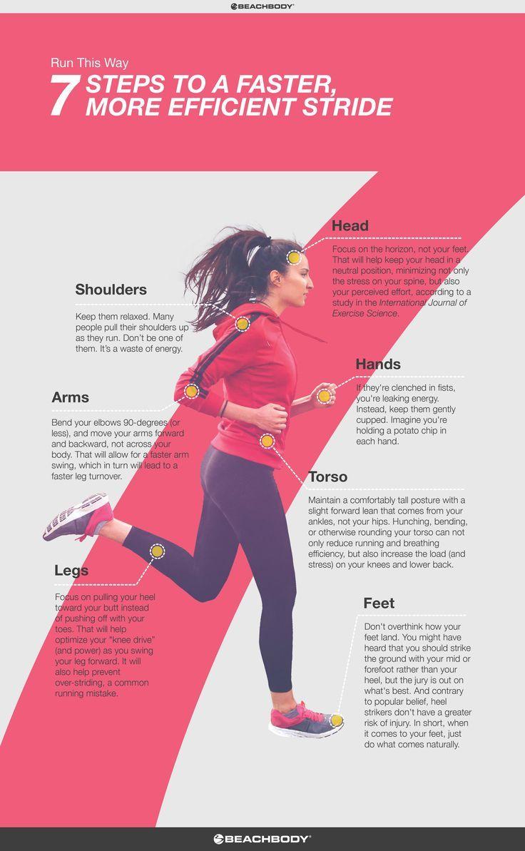 How to Improve Your Running Form // fitness // run // tips // cardio // running technique // marathon training // half marathon // 5K // 10K // running for beginners // Beachbody // http://BeachbodyBlog.com