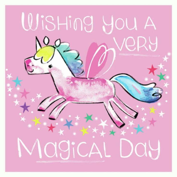 Wishing you a magical day (Katie Wood)
