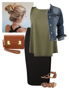 """""""NoCaption"""" by bye18 ❤️ liked on Polyvore featuring Victoria Beckham, maurices, Steve Madden and Sophie Hulme"""