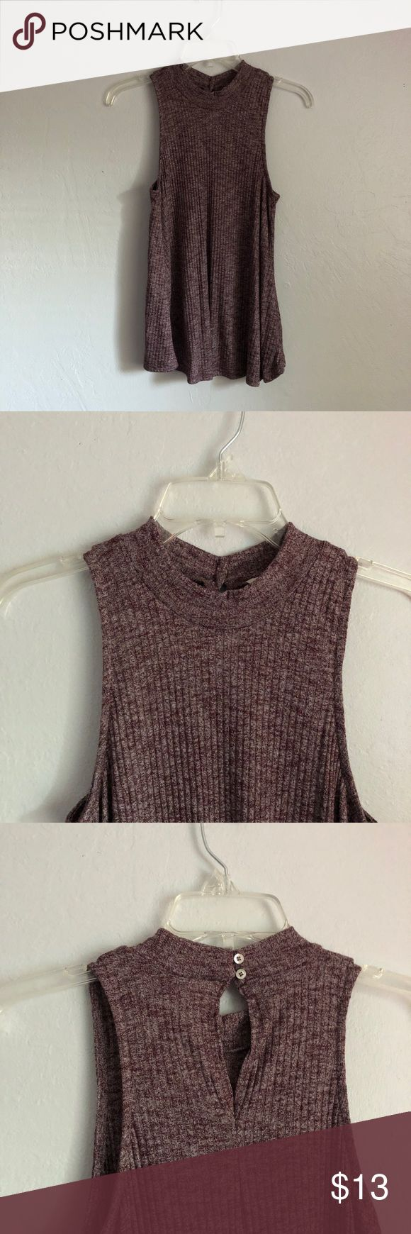 Hollister Top Mock Neck  NWOT Never worn Open for offers!! Hollister Tops Tank Tops