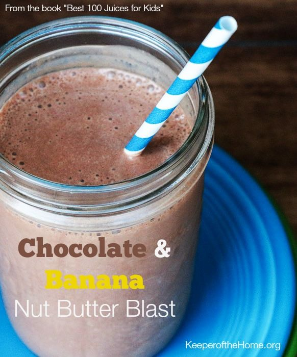 Included in A Month of Smoothies -- 31 Recipe Links to Keep You Happily Slurping All Summer - Keeper of the Home