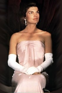 Jackie O ...pretty in pink