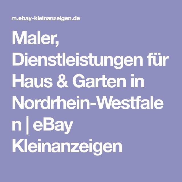 Die besten 25+ Nordrhein westfalen Ideen auf Pinterest Nordrhein - ebay kleinanzeigen minden küche