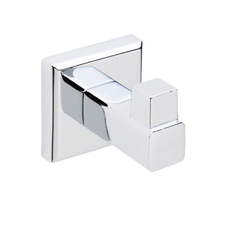 Cooke & Lewis Linear Chrome Effect Robe Hook   Departments   DIY at B&Q
