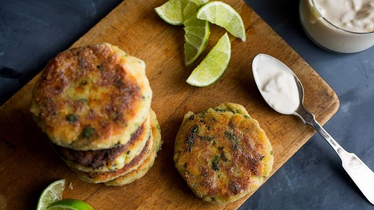NYT Cooking: Bright, bold and richly flavored, these are not your typical fish cakes. That flavor is layered into every step: the fish is browned with some garlic, and both are mixed with mashed potatoes along with vibrant herbs, green chile and fragrant lime zest. Choose a sustainable fish here, any mild white fillet will work. Consult either your local fishmonger, or the Monterey B...