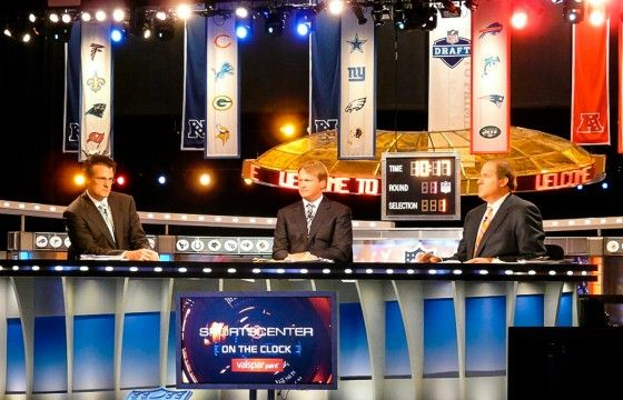 2013 NFL Draft Highlights Chris Berman and ESPN's Ineptness