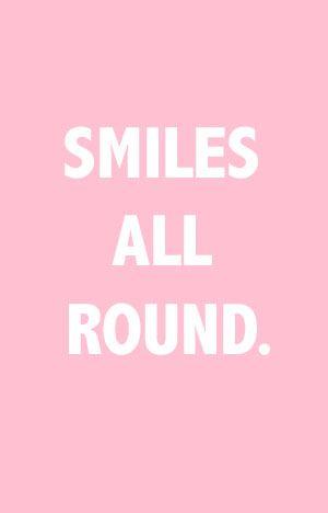 Smiles all round
