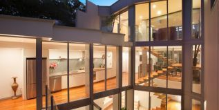 Ultra spacious & private residence, defined by bold modern design, exceptionally large light-filled residence, central courtyard