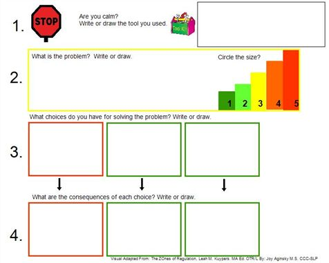 zones of regulation curriculum pdf