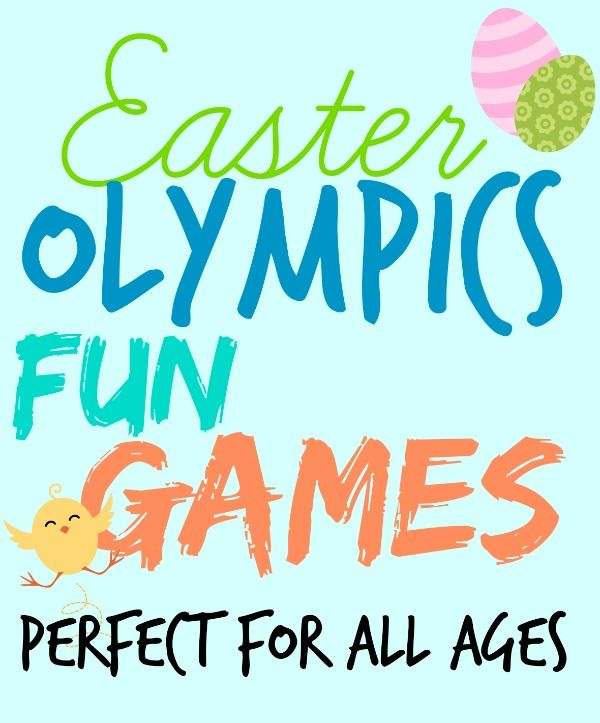 Fun and Cheap Party Games- Easter Olympics - FYNES DESIGNS