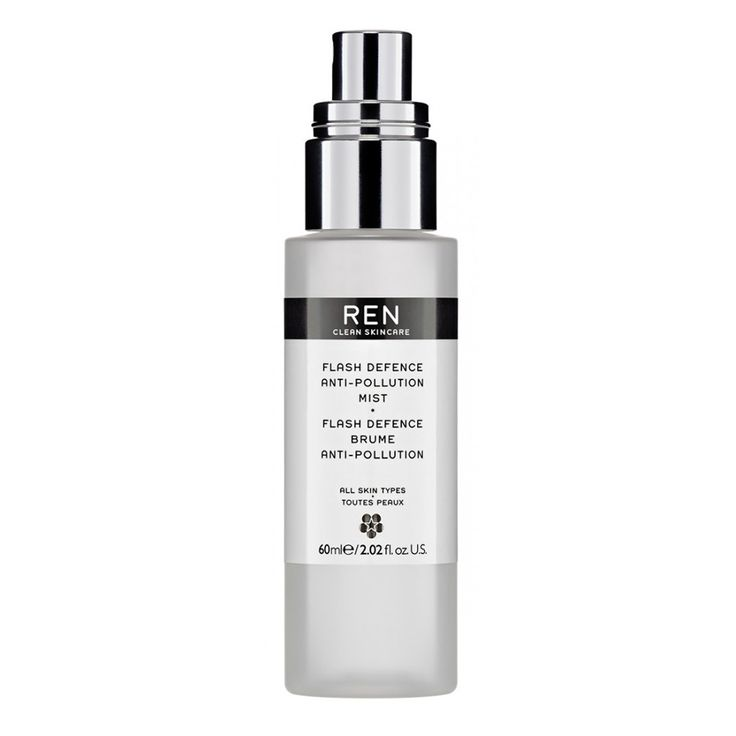 Brume anti-pollution Flash Defence, Ren, 32€ les 60ml