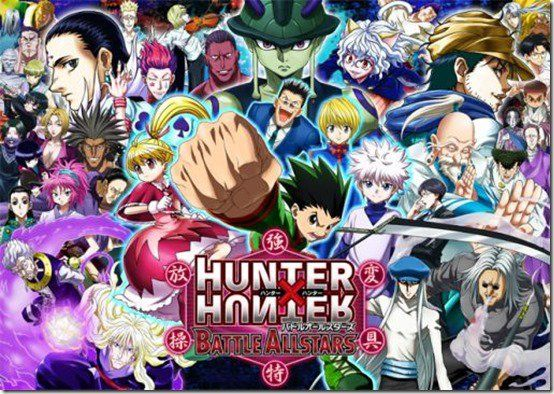 Hunter  Hunter bataille All stars free anime android game 2016