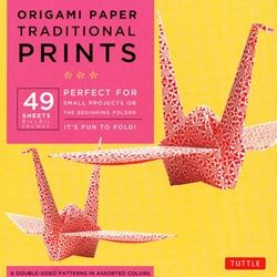 "8"" Origami Paper and Instruction Kit - TRADITIONAL JAPANESE PRINTS"