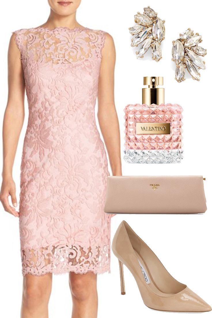 Semi-Formal Wedding Guest Outfit Idea