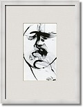 Character No17 Art Prints by MARINA KANAVAKI - Shop Canvas and Framed Wall Art Prints at Imagekind.com