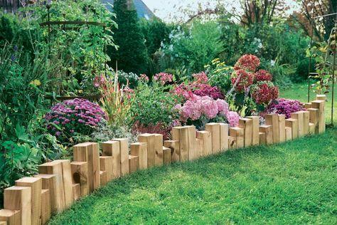 34 best Garten images on Pinterest Flowers garden, Flower beds and - gartenbeet steine anlegen