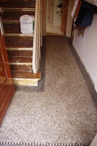 Opknappen granieten vloeren jaren 30 woning