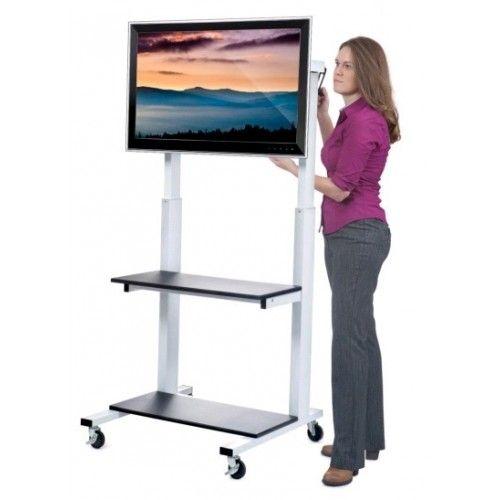 8 mejores im genes sobre soportes para pantallas moviles en pinterest tvs pedestal y watches - Soporte con ruedas para tv ...