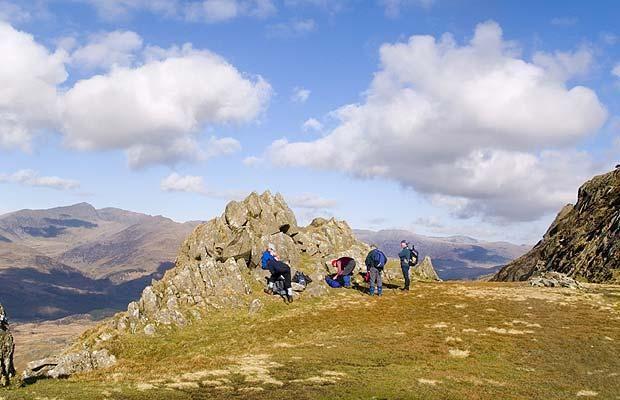 UK walking holidays: Ten best British hikes - Telegraph - Bochlwyd Horseshoe, Snowdonia