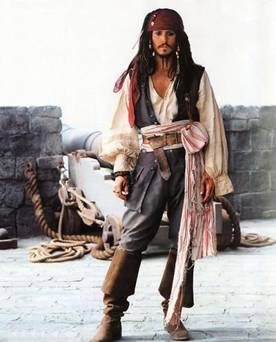 Как самой сделать пиратский костюм джека воробья