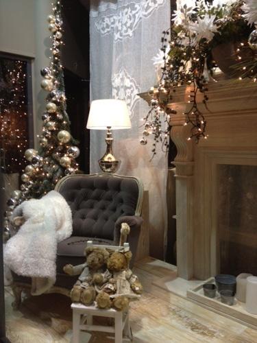 Okno wystawowe. Boże Narodzenie 2012
