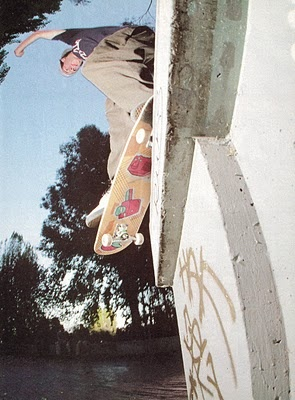 Mike Carroll. Back Smith Hubba Hideout. One of my favorite skate photos ever.