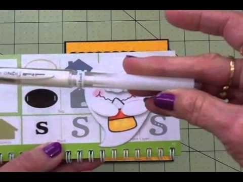 """CARDZ TV: CARDZ TV STAMPS 2 DAY HALLOWEEN SALE & CRICUT HALLOWEEN CARD """"GOT CANDY?"""""""