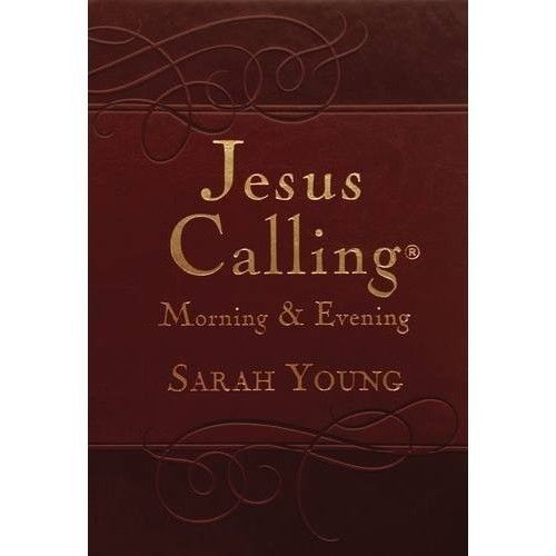 Jesus Calling Morning and Evening Devotional Imitation Leather Best Book Meditat