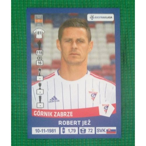 Football Soccer Sticker Panini Polska Ekstraklasa 2016 #76 Gornik Zabrze #gotgotneed