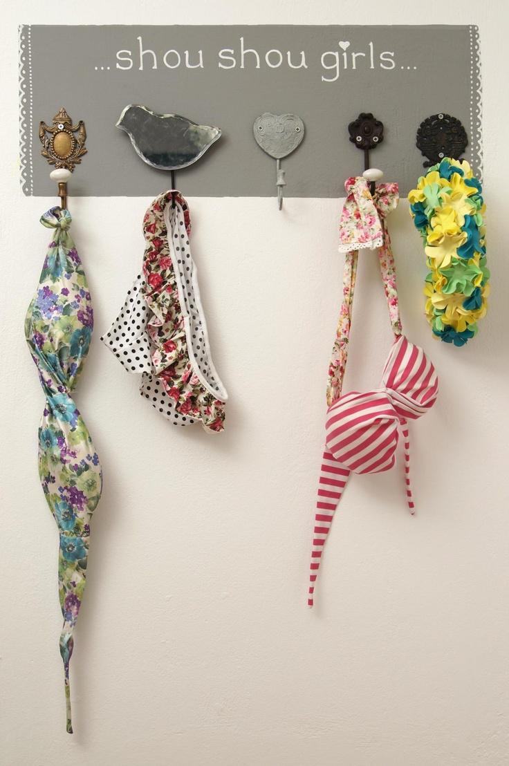 shou shou hangers Last years bikinis :)