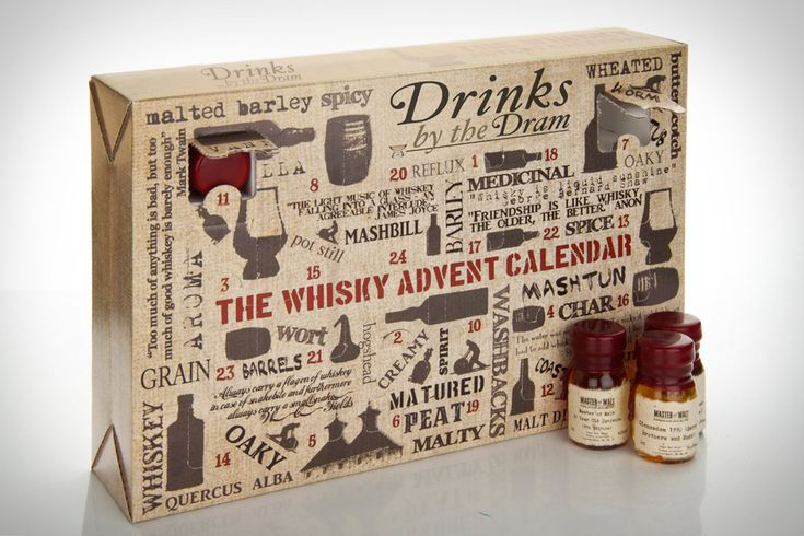 Whisky Advent Calendar - $237.90 // ah, an advent calendar for adults