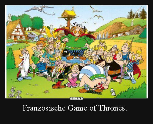 Französische Game of Thrones… | Lustige Bilder,…