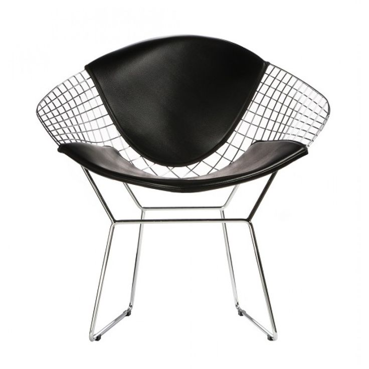 Bertoia Wire Diamond Chair - Back and Seat Cushion Commercial Furniture. Awesome design and at a great price