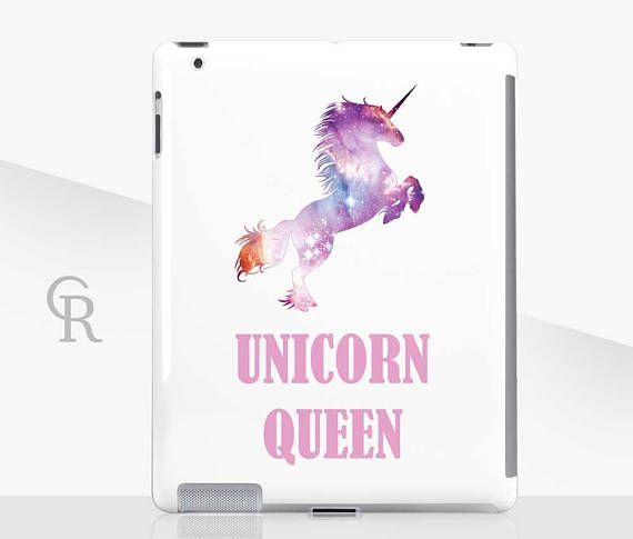 Unicorn Queen iPad Case For  iPad 2 iPad 3 iPad 4 and iPad