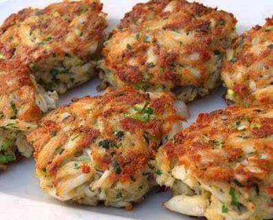 The Lazy Gourmet: MARYLAND CRAB CAKES: