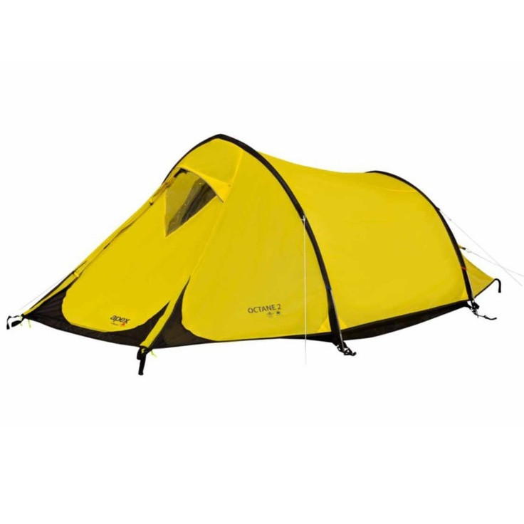 Octane 2 Man Tent, takes 5-8 minutes to pitch